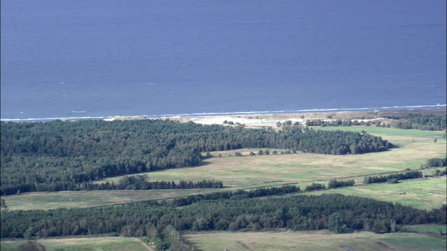 western pomerania lagoon area national park  - aerial view - mecklenburg-vorpommern,  germany - baltic sea stock videos and b-roll footage