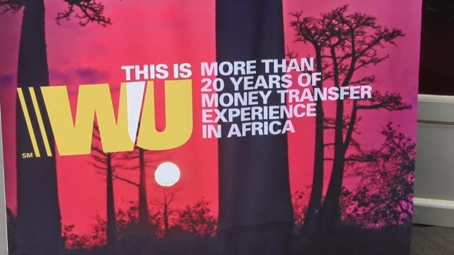 stockvideo's en b-roll-footage met western union has marked its twentieth anniversary of operations in ghana with a commitment to avoid money laundering and financing of terrorism... - vermijden