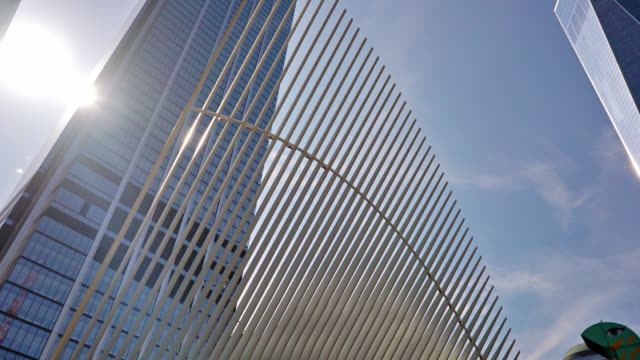 westfield world trade center. street view. - ward stock videos and b-roll footage