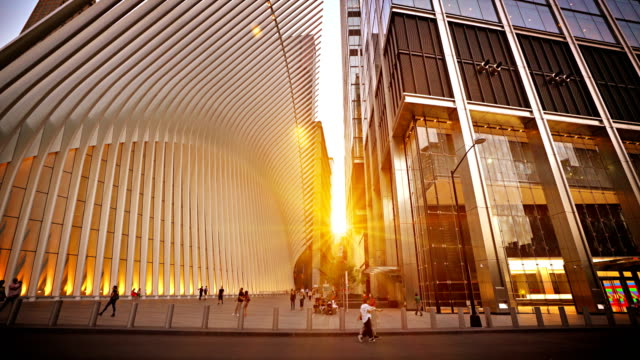 vidéos et rushes de westfield world trade center. world trade center new york - neuf