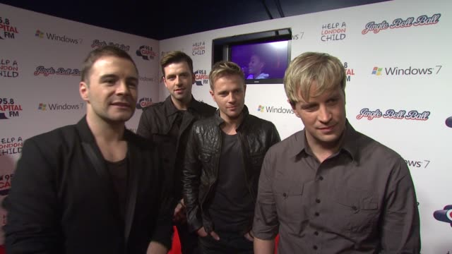 Westlife on Jedwardon being the eldest 'Stars' on the show on their 11 year career on a fresh start in 2010 and on looking forward to seeing Lady...