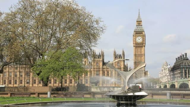L'abbaye de Westminster et Big Ben, Londres, Royaume-Uni