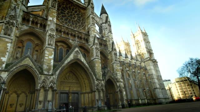 stockvideo's en b-roll-footage met westminster abbey time-lapse. hd - britse cultuur