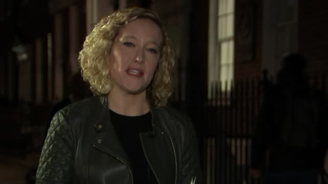 mps promise zero tolerance on sexual harassment england london reporter to camera - cathy newman stock-videos und b-roll-filmmaterial