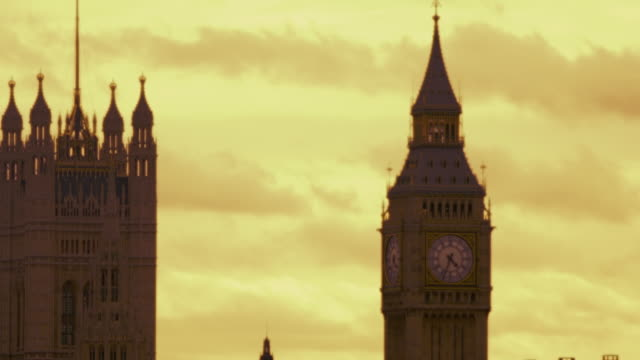 westminster and hungerford bridge - hungerford bridge stock videos & royalty-free footage
