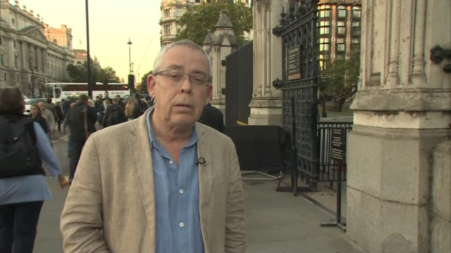 Inquest concludes all five victims died unlawfully ENGLAND London Westminster EXT Reporter to camera