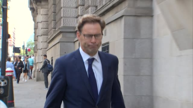 MP Tobias Ellwood gives testimony ENGLAND London Old Bailey EXT Tobias Ellwood MP arriving at inquest Westminster Reporter to camera