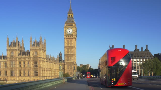 westminster bridge - big ben stock videos & royalty-free footage