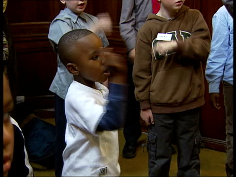 westminster cathedral choir school holds music contest john browne interview sot boys need three differenet talents to come and by a chorister at... - singing contest stock videos and b-roll footage