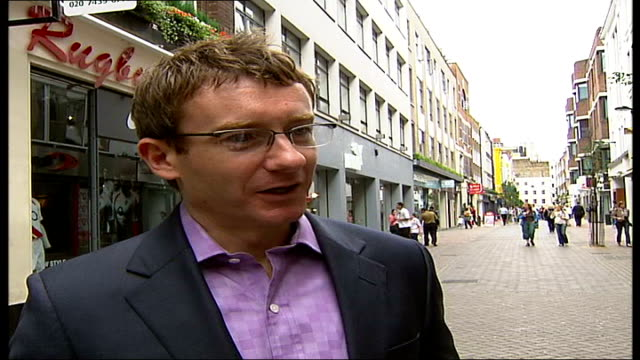 Westminster Council copyrights London street signs Carnaby Street Councillor Danny Chalkley interview SOT