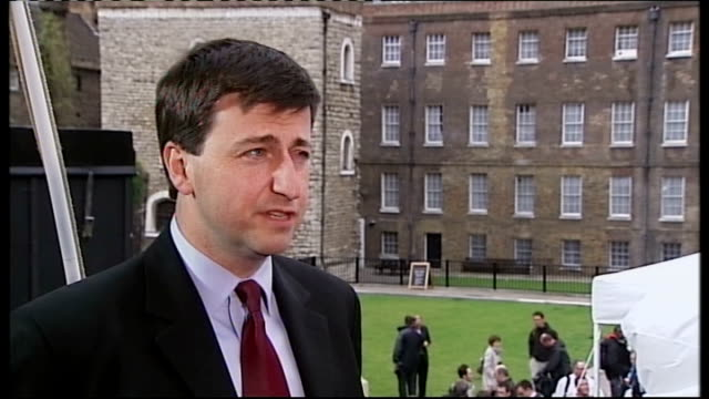 douglas alexander mp interview sot when people reflect on gordon's premiership single feature they'll most closely identify with is the call of the... - douglas alexander stock videos & royalty-free footage