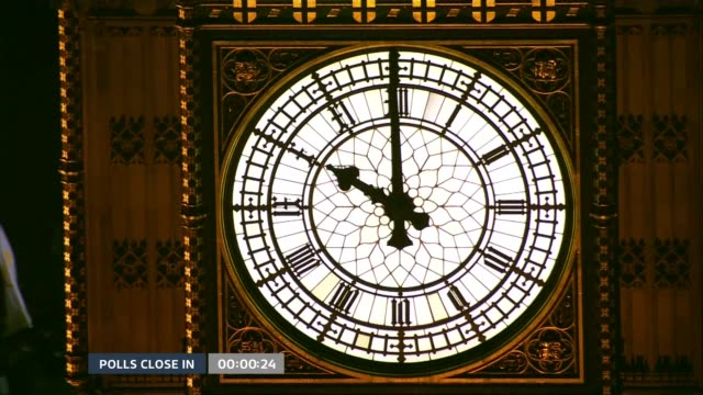 special 2155 2300 westminster ext big ben striking 1000 pm - general election stock videos & royalty-free footage