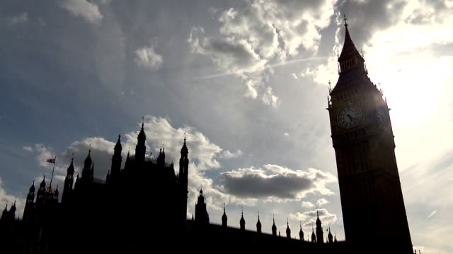 westminster palace in london - headquarters stock videos & royalty-free footage