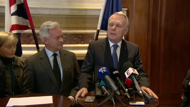 westminster terror attack: french foreign minister reaction; westminster terror attack: french foreign minister reaction; england: london: foreign... - alan duncan stock videos & royalty-free footage