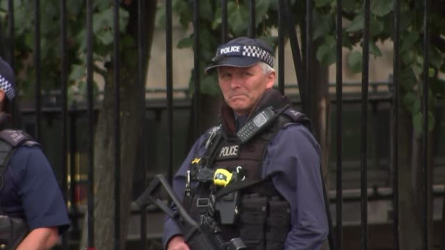 Inquest rules attacker Khalid Masood was lawfully killed ENGLAND London EXT Police firearms officers