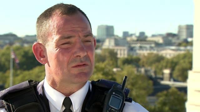 Inquest rules attacker Khalid Masood was lawfully killed ENGLAND London Nick Carlisle interview SOT Name tag on vest of Carlisle Carlisle