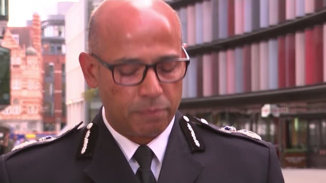 inquest rules attacker khalid masood was lawfully killed england london ext assistant commissioner neil basu speaking to press sot - rules stock videos & royalty-free footage