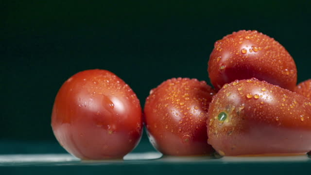 wet tomatoes - wet wet wet stock videos & royalty-free footage