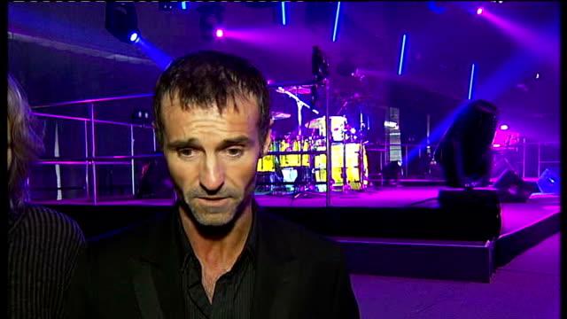 wet wet wet concert preview; marti pellow and graham cunningham interview sot - wet wet wet stock videos & royalty-free footage