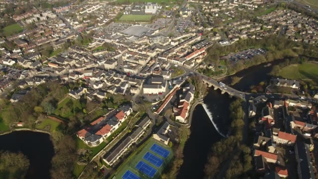 Wetherby Aerial View Pulling Away