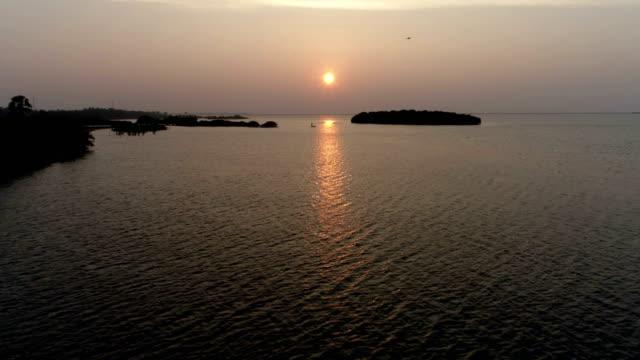 wetlands of western sri lanka - sri lanka stock videos & royalty-free footage