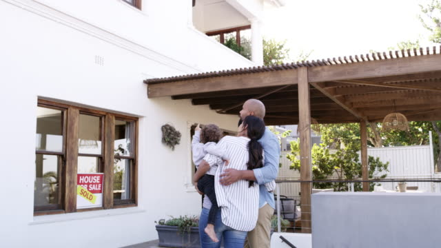 we've finally bought our dream home - selling stock videos & royalty-free footage