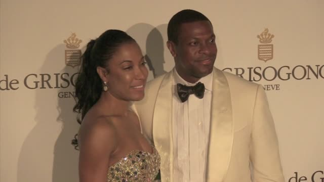 We've spotted Chris Tucker Azja Pryor Gary Dordan attending the De Grisogono party held at the famous Hotel du Cap in Antibes France Antibes France...