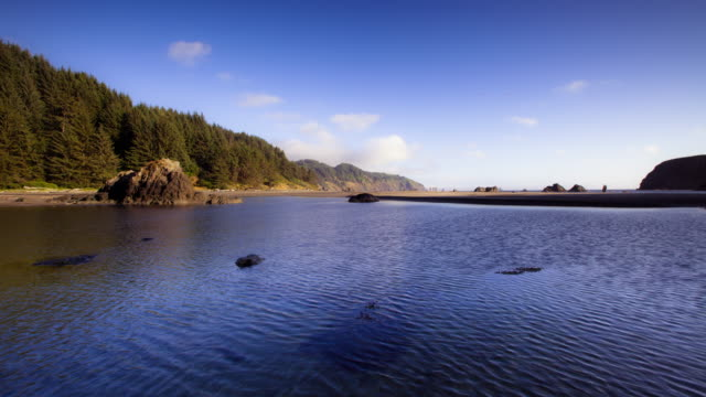 whaleshead beach, oregon - time lapse - oregon coast stock videos & royalty-free footage