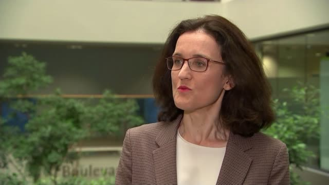 Thousands evacuated from town as dam at risk of bursting ENGLAND London Westminster INT Theresa Villiers MP interview SOT