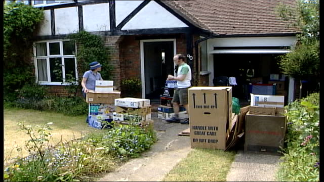 What does it need to cool the housing market ITN Dale and Dominica Buckton standing outside new home with boxes of belongings MS Dale and Dominica...