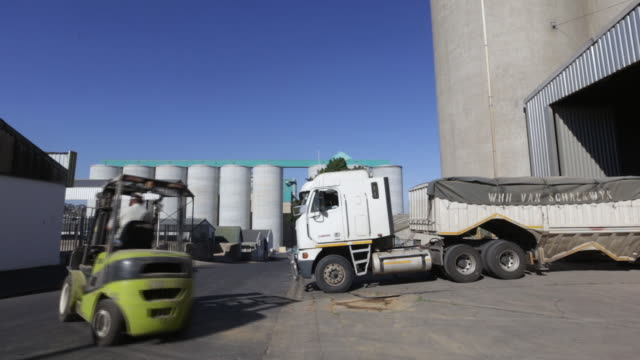 Wheat grain and corn storage at the Kaap Agri Ltd grain silos in Malmesbury and Klipheuwel South Africa on Tuesday April 17 2018