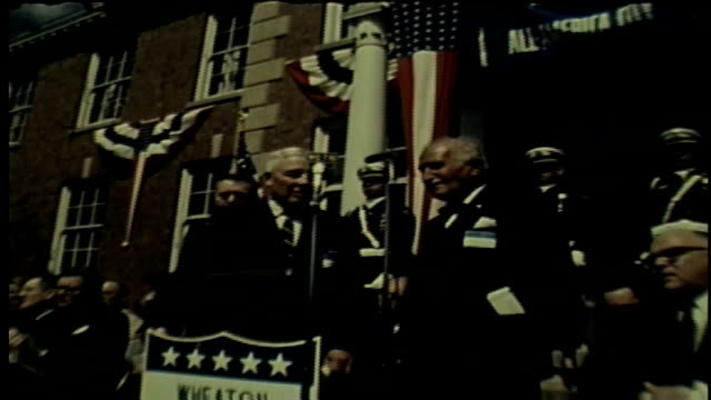 wgn wheaton illinois awarded the allamerica city award by the national civic league on april 8 1968 - dupage county stock videos & royalty-free footage