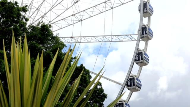 wheel of brisbane in motion, australia - wheel stock videos & royalty-free footage