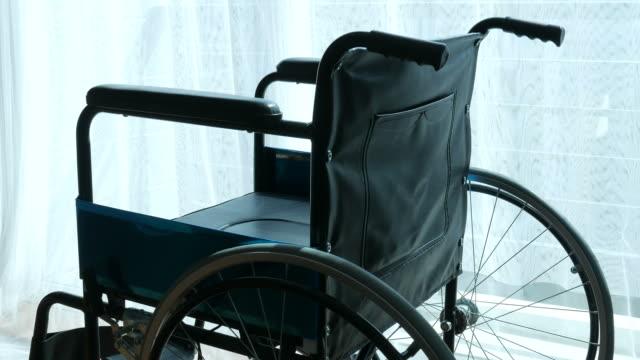 rolstoel op kamer