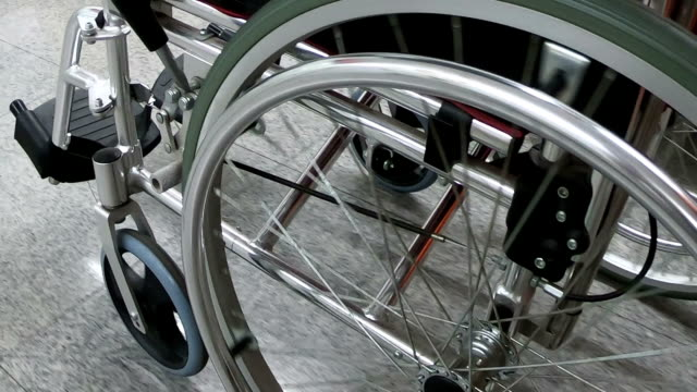 wheelchair - social security stock videos & royalty-free footage
