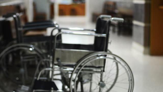 wheelchair - leaving hospital stock videos & royalty-free footage