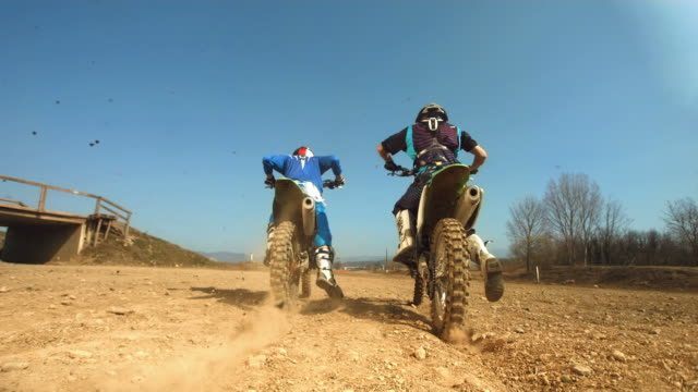 HD SLOW MOTION: Wheelie Motocross Accident