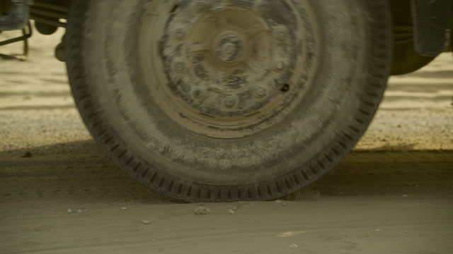 """wheels of lorry, india. - """"bbc natural history"""" stock videos & royalty-free footage"""