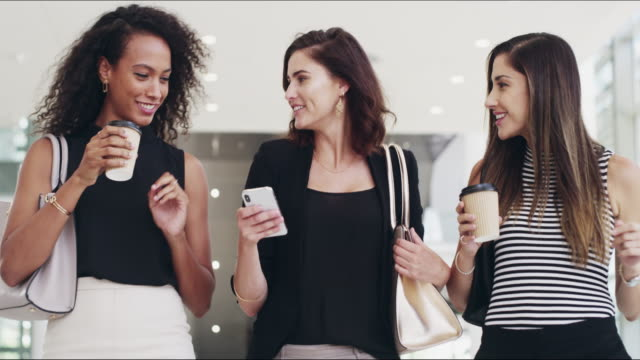 when a business network becomes a friendship - coffee break stock videos & royalty-free footage