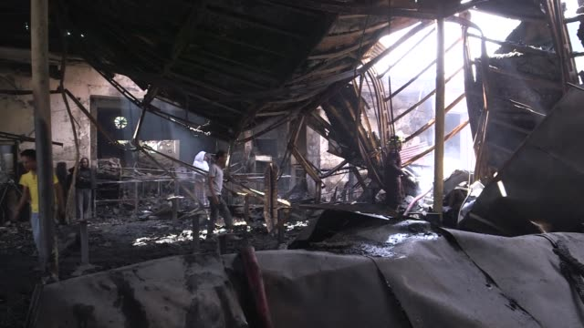 vídeos de stock, filmes e b-roll de when fire destroyed ethiopias most famous jazz club last month in the ethiopian capital it struck a tragic chord in the local music scene - chord