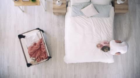 when we play, we bond - pajamas stock videos & royalty-free footage