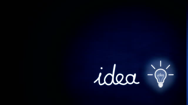 where you turn on the light bulb of an idea? - intellectual property stock videos & royalty-free footage