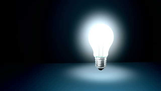 where you turn on the light bulb of an idea? - turning on or off stock videos & royalty-free footage