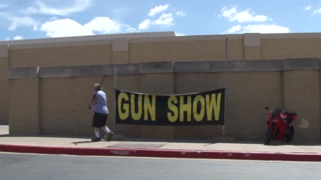 While Houston hosts the annual convention of the gun lobby NRA its northern neighbor Fort Worth holds one of the states biggest gun shows CLEAN Brisk...