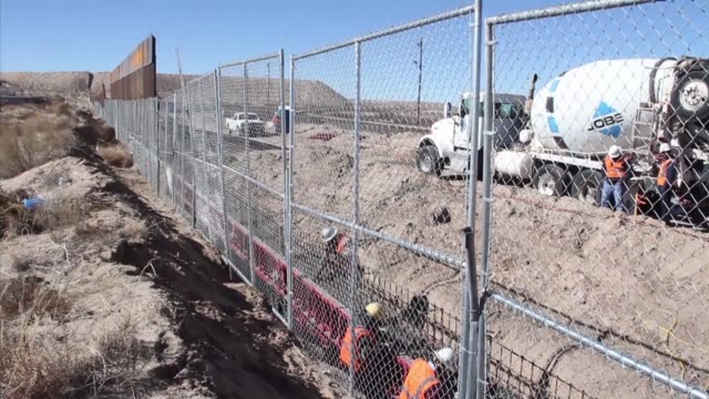 While US president Donald Trump on Wednesday ordered work to begin on designing and building a wall along the Mexican border construction is already...