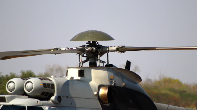 whirling blades helicopter working close-up - us military stock videos & royalty-free footage