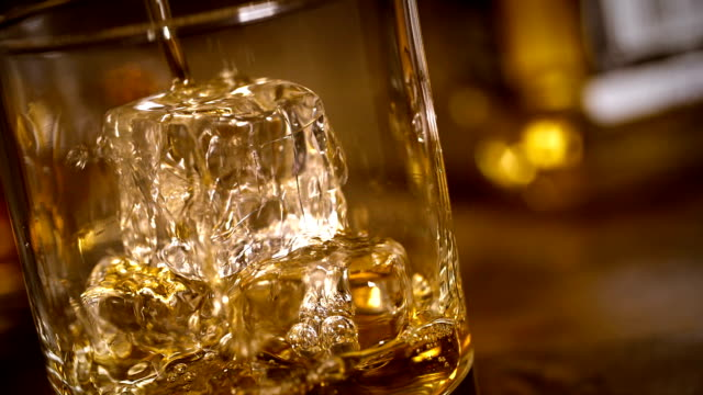 whiskey - whiskey stock videos and b-roll footage
