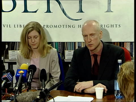 whistle blower cleared; itn james welch press conference sot - one might question whether it was appropriate for the attorney general to be so... - attorney general stock videos & royalty-free footage