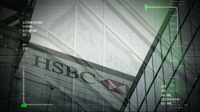 Whistleblower DATE HSBC HQ with surveillance graphic overlaid