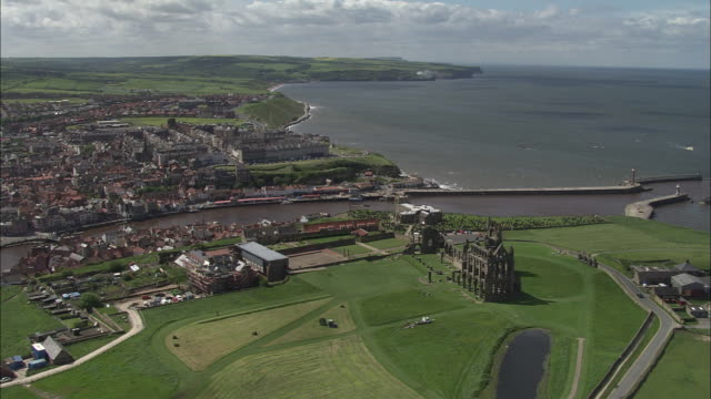 whitby - yorkshire england stock videos & royalty-free footage